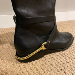 Ralph Lauren riding boots size 9.5. Real leather